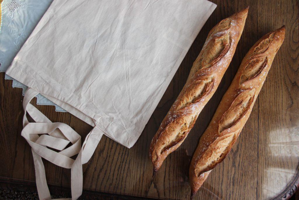 Sac à pain zéro déchet